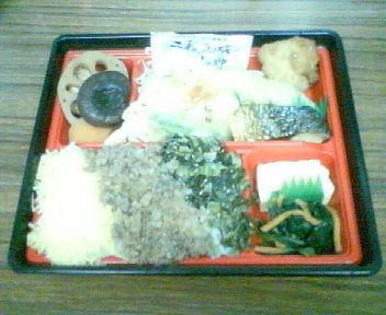 今日の弁当20110528