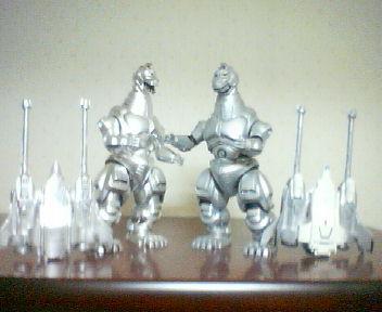 特撮Collection <br />  メカゴジラ&<br />  ガルーダ