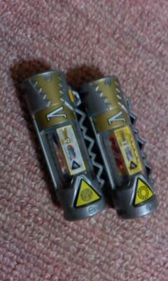 自作獸電池ビクトリー&マキシ