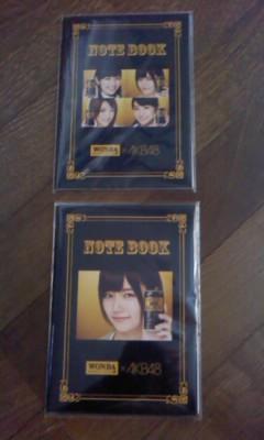 WANDA×AKB48 <br />  オリジナルノート